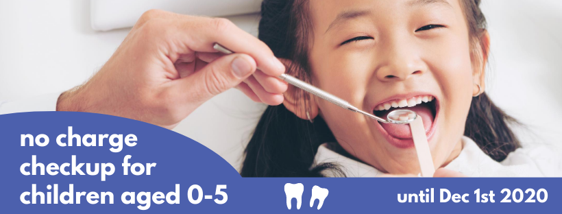 no charge children's dental exam
