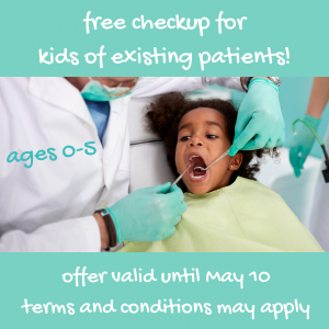 no charge checkup for kids of patients